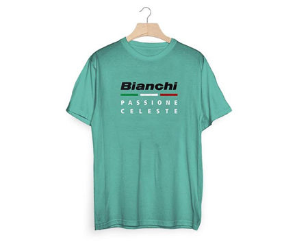 Picture of MAJICA BIANCHI K/R T-SHIRT PASS. CELESTE NEW