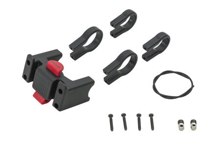 Picture of ADAPTER VAUDE KLICK FIX SYSTEM FOR HANDLE BAR BAGS BLACK