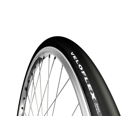 Picture of TABULAR 700X27C VELOFLEX RAVEN BLACK
