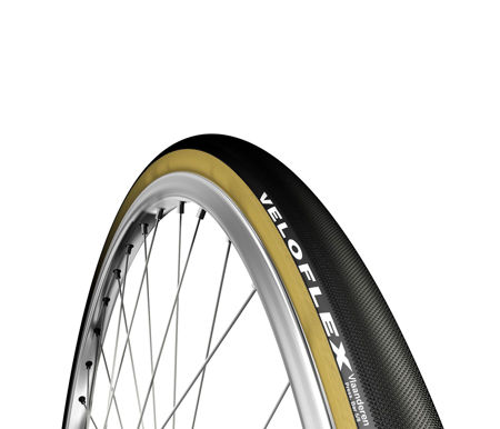 Picture of TABULAR 700X27C VELOFLEX VLAANDEREN BLACK/PARA