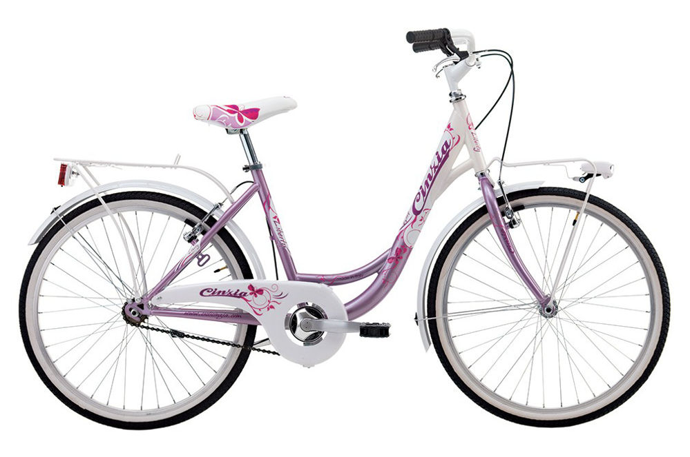 "Picture of Cinzia 24"" LIBERTY CITY GIRL Pearl Pink/White"