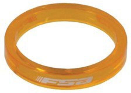 "Picture of Odstojni prsten 1 1/8"" 5mm TRANSP ORANGE FSA 160-3501TO"