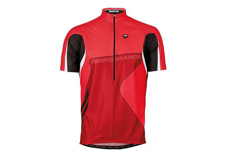 Picture of Majica K/R PERFORMANCE Red Bicycle Line
