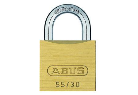 Picture of Lokot brass padlock 55/30 ABUS 02854-0