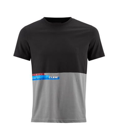 Picture of MAJICA CUBE T-SHIRT TEAM BLACK'N'GREY 10567
