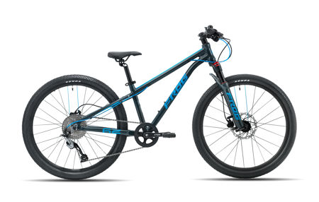 Picture of FROG MTB 62 METALLIC GREY/NEON BLUE