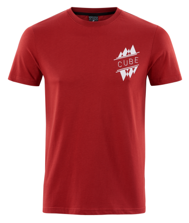 Picture of MAJICA CUBE T-SHIRT TEAM RED'N'WHITE
