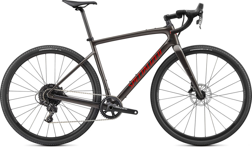 Picture of Specialized Diverge Base Carbon Gloss Smoke 2021